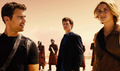 Allegiant Still - Four, Caleb and Tris - divergent photo