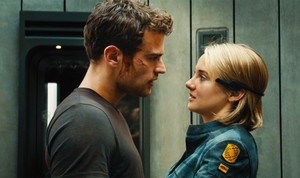Allegiant Still - Four and Tris