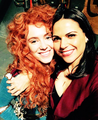 Amy and Lana  - once-upon-a-time photo