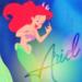 Ariel icon  - disney-princess icon