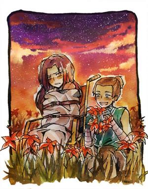 Azula and Sokka