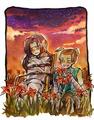 Azula and Sokka - avatar-the-last-airbender fan art