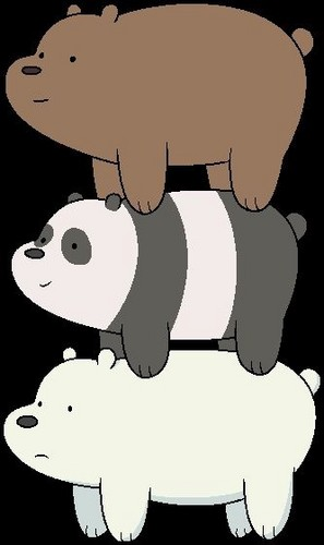 We Bare Bears wallpaper titled orso stack