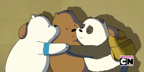 We Bare Bears karatasi la kupamba ukuta titled Bears Forever