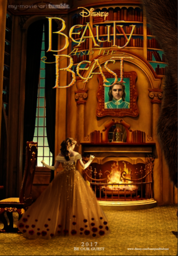 Beauty and the Beast (2017) fond d'écran entitled Beauty and the Beast