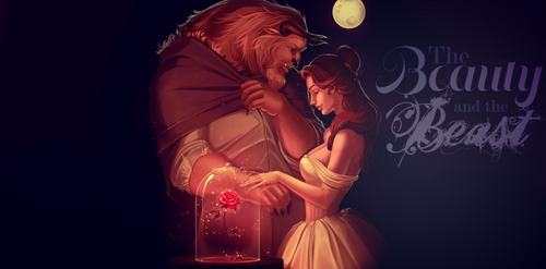 Beauty and the Beast (2017) wallpaper called Beauty and the beast