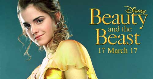 Beauty and the Beast (2017) karatasi la kupamba ukuta probably with a portrait called Beauty and the beast