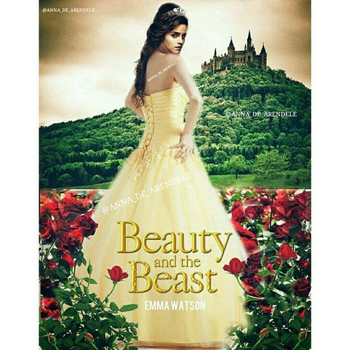 Beauty and the Beast (2017) hình nền with a gown, a bridal gown, and a bữa tối, bữa ăn tối dress called Belle