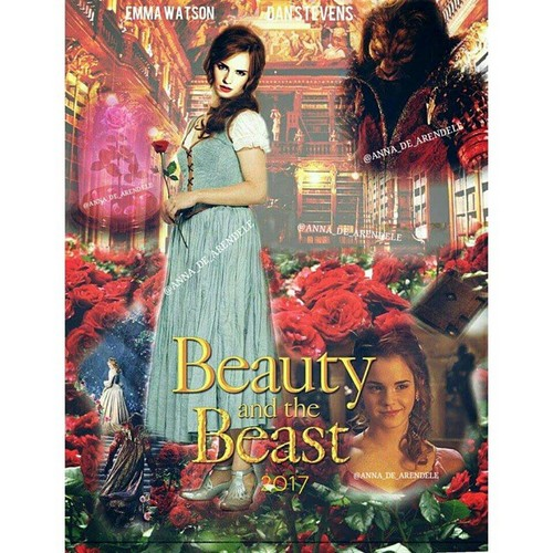 Beauty and the Beast (2017) karatasi la kupamba ukuta containing anime called Belle