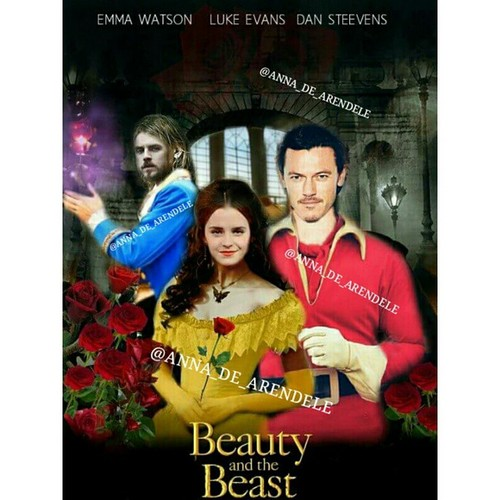Beauty and the Beast (2017) वॉलपेपर containing a portrait titled Belle