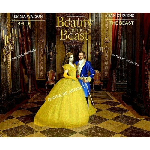 Beauty and the Beast (2017) wallpaper probably with a hoopskirt and a polacca, polonaise entitled Belle
