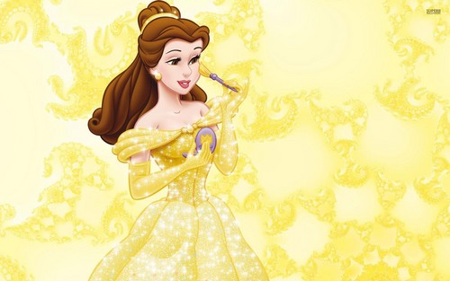 Beauty and the Beast wallpaper entitled Belle