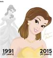 Belle  - beauty-and-the-beast fan art