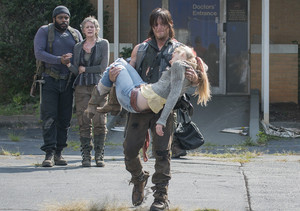 Beth, Carol, Daryl and Tyreese