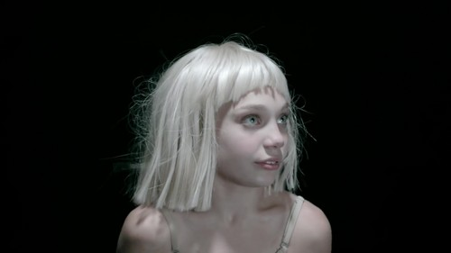 Sia fond d'écran probably with a portrait called Big Girls Cry {Music Video}