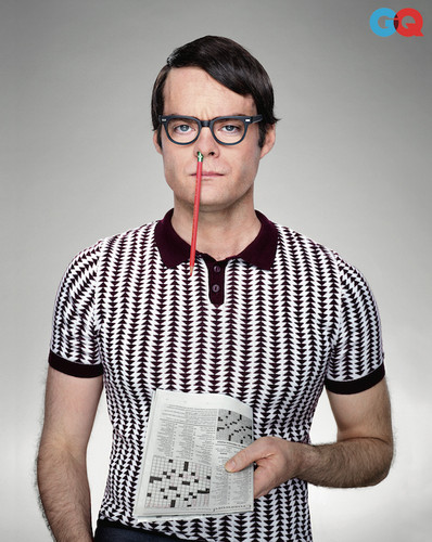 Bill Hader wolpeyper entitled Bill Hader - GQ Photoshoot - 2013