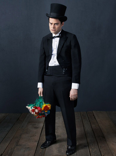 Bill Hader wolpeyper containing a business suit entitled Bill Hader - palikero Photoshoot - 2013