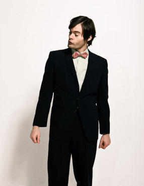 Bill Hader hình nền containing a business suit, a suit, and a single breasted suit titled Bill Hader - Time Out New York Photoshoot - March 2009