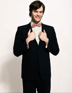 Bill Hader karatasi la kupamba ukuta with a business suit, a suit, and a double breasted suit titled Bill Hader - Time Out New York Photoshoot - March 2009