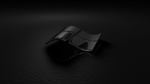 Microsoft Windows images Black Glass HD wallpaper and