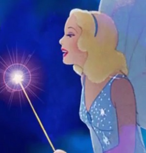 Walt disney fan Art - The Blue Fairy