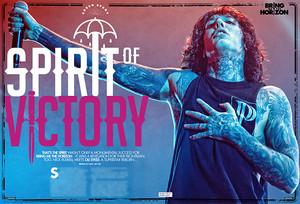 Bring Me The Horizon in Kerrang Magacine
