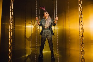 "CL pics for ""HELLO BITCHES"" release"
