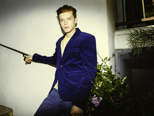 Cameron Monaghan kertas dinding probably containing a hoe, a spatula, and a pick entitled Cameron Monaghan - Bellus Magazine Photoshoot - April 2014
