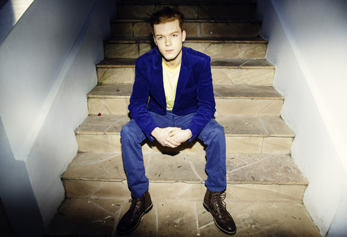Cameron Monaghan achtergrond containing a business suit called Cameron Monaghan - Bellus Magazine Photoshoot - April 2014