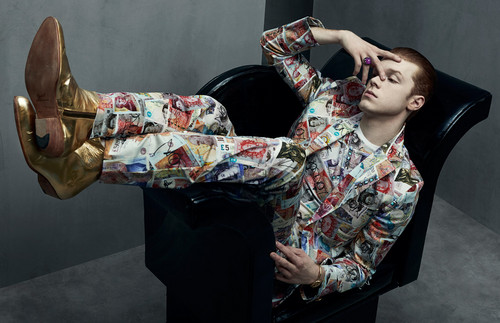 Cameron Monaghan 壁纸 probably with a 和服 called Cameron Monaghan - Schon Magazine Photoshoot - October 2015