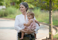 Carol and Judith - the-walking-dead photo