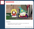 Cartman being less transphobic than many real people - lgbt photo