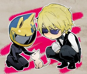 Celty, Shizuo,