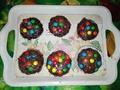 Chocolate cupcakes made by me :)  - cupcakes photo