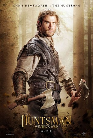 Chris Hemsworth is The Huntsman