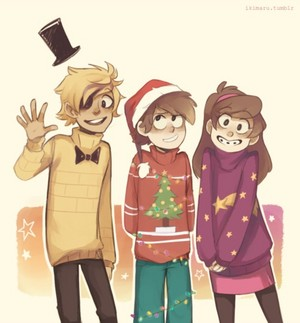 Weihnachten with the Pine Twins