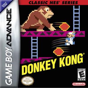 Classic NES Series Donkey Kong BoxArt
