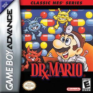 Classic NES Series Dr. Mario BoxArt