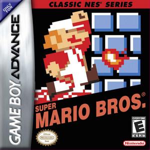 Classic NES Series Super Mario Bros. BoxArt