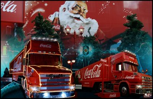 Coca-Cola ChristmasTruck Holidays Are Coming