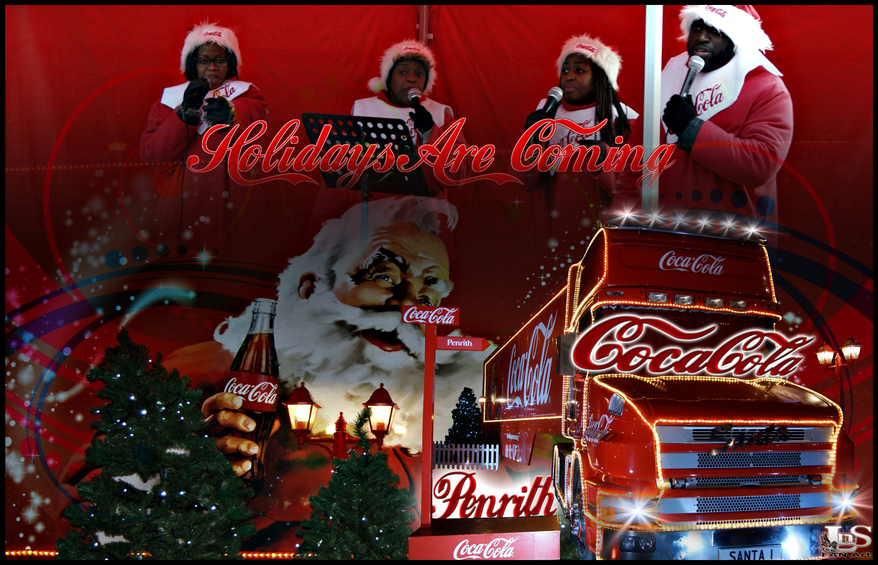 Coke Images Coca Cola ChristmasTruck Holidays Are Coming HD Wallpaper And Background Photos