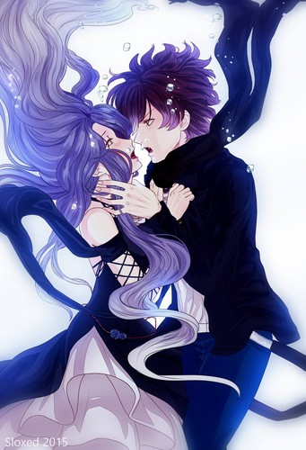 Diabolik amoureux fond d'écran entitled Cordelia and Ayato