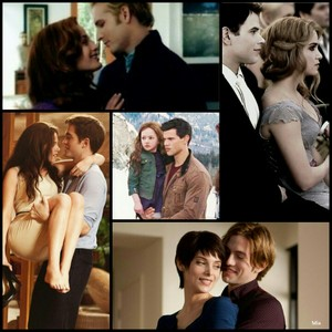 Cullen couples, Jake and Renesmee