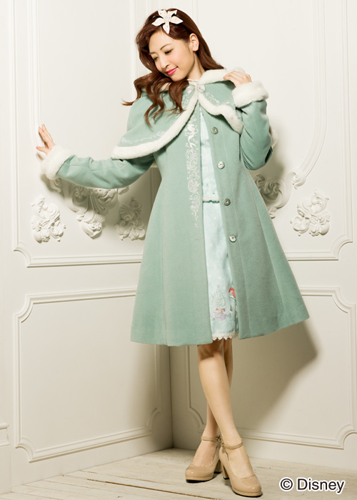 DP Outfits-Ariel themed winter coat