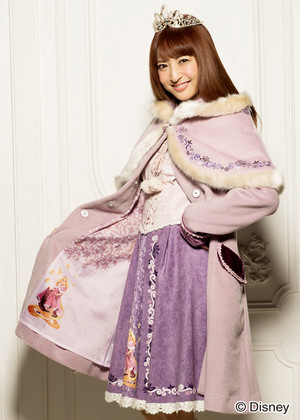 DP Outfits-Rapunzel themed winter coat