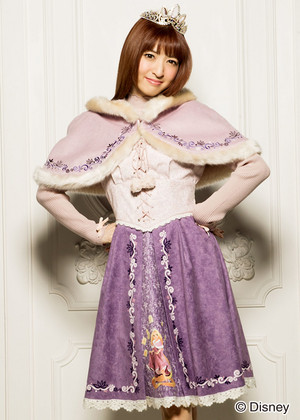 DP Outfits-Rapunzel themed winter dress