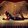 Deadpool's Thanksgiving Photoshoot 2015