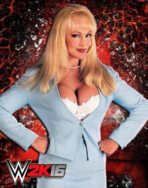 Debra in WWE 2K16