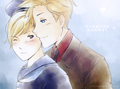 Denmark Norway  - hetalia-couples photo