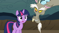 Discord smiles evilly and Twilight gasps S2E2 - my-little-pony-friendship-is-magic photo